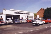 Holdaway Garage, 279 Great North Rd, Eaton Ford - closed in 2001