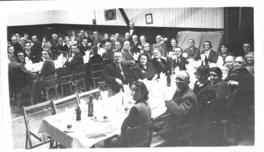 Inside The Institute, School Lane, Eaton Socon, in the 1940s