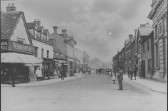 High St, St Neots looking east from the South Street corner, around 1890-1910