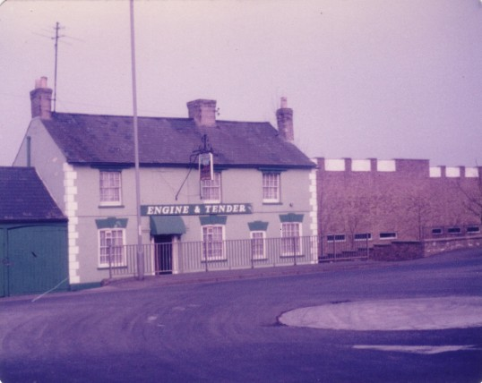 Engine and Tender Public House, Cambridge Street, St Neots in 1984 (now demolished)