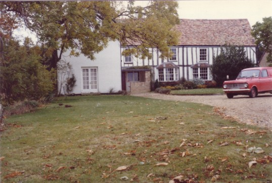 Bassmead Manor in Eaton Socon Parish, in 1980