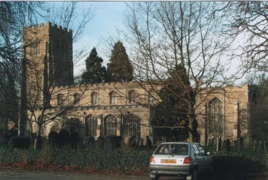 Eaton Socon, St Marys Church, from the south in 2007