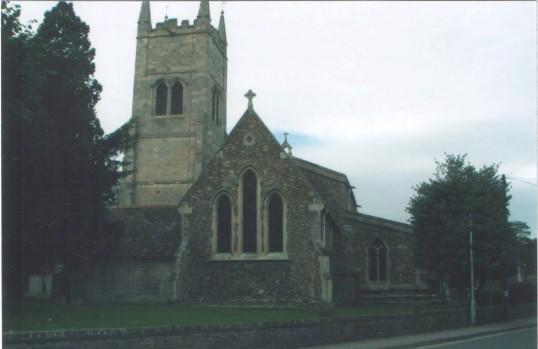 Eynesbury, St Marys Church, in 2007