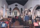 Little Paxton Church, St James - inside in December 2006