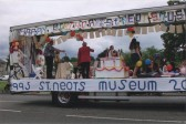 St Neots Museum 10th Birthday Float at the St Neots Carnival in August 2005