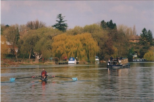 St Neots Rowing Club on the River Great Ouse, in 2006