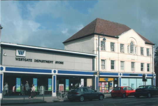 Westgate Stores in St Neots High Street, in 2006