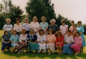 Staff at Bushmead Infants School, Eaton Socon 1987