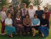 Staff at Bushmead Infants School 1986, Eaton Socon