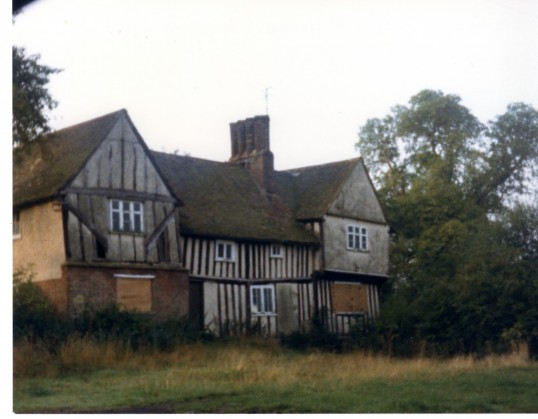 Croxton Manor House boarded, in 1984