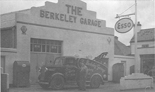 Berkeley Street Garage, Eynesbury, around 1960