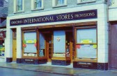 International Stores in St Neots High Street, closed in the 1970's