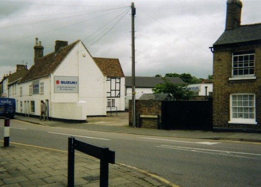 Motorcycle Shop in 2007, St Marys Street, Eynesbury, formerly a bakery