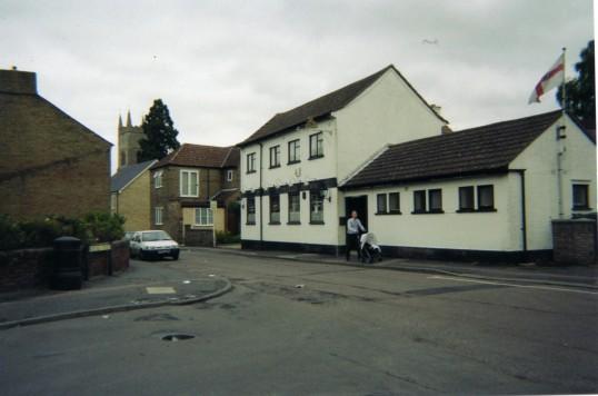 The Plough Pub, Montagu Street, Eynesbury, in 2007