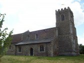 Little Barford Church, St Denys, from the north east, in June 2008
