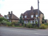 Cottages at Little Barford in June 2008