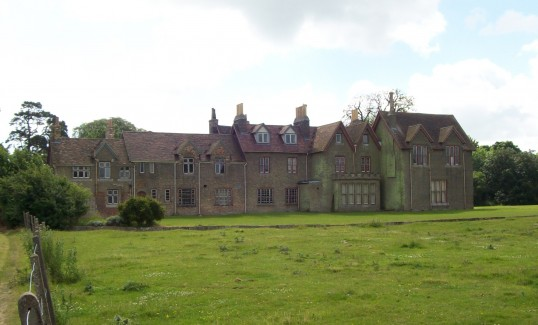 Little Barford House at Little Barford in June 2008