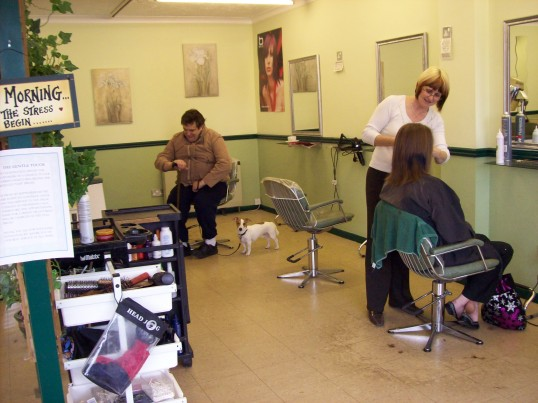 Gentle Touch Hairdressers, Great North Rd, Eaton Socon in September 2007