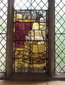 Eaton Socon Church - Medieval painted glass that survived the 1930 fire