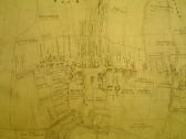 Draft 1790's Eaton Socon Parish Enclosure Award showing Eaton Socon village up to the George and Dragon