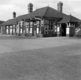 St Neots Railway Station in 1952