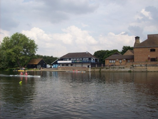 St Neots Annual Regatta on the River Great Ouse in July 2008