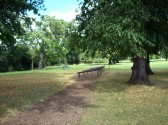 Part of the Trim Trail at Priory Park, St Neots in August 2008