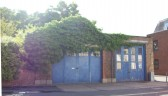 Old Fire engine house in Huntingdon Street, St Neots, in July 2008
