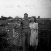 Scales family at Wyboston in the early 1950s