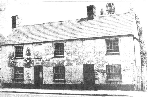 The former Black Horse on the Great North Rd in Eaton Socon, in the early 1960s