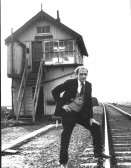 Last manual signal box and last signalman at St Neots Railway Station - probably mid 1960s