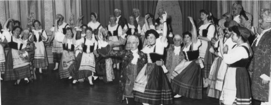 St Neots Operatic Society performing Gilbert and Sullivan's 'The Gondoliers', in 1963