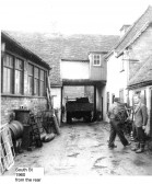 Ibbetts Agricultural Engineers in 1960, in South Street, St Neots before their move to Great Paxton in the 1960s.