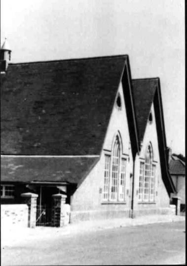 Eaton Socon School, School Lane, Eaton Socon around 1960