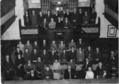 St Neots Music Makers meeting in St Neots Methodist Church, in 1957