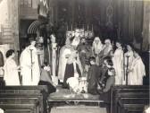 Nativity Play in St Marys Eynesbury Church in the 1950s