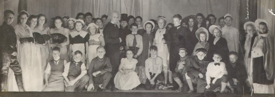 Eynesbury School Play around 1950