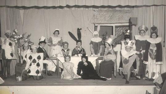 Eynesbury School Production, about 1950