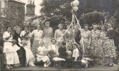 Crowning of Doreen Corn as May Queen in Eynesbury in the early 1950s