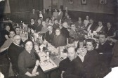 Church Christmas meal in Eynesbury in the late 1950s/early 1960s