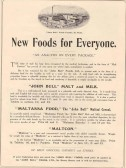 1911 Coronation Souvenir programme - advert for John Bull Mill in St Neots