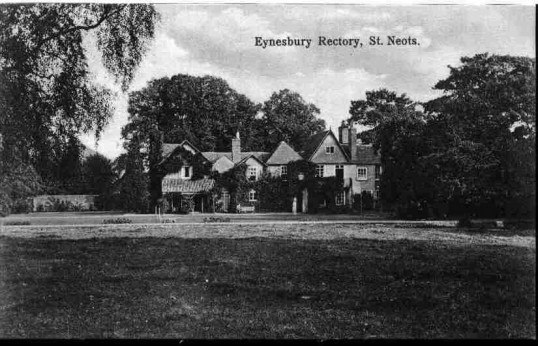 Eynesbury Rectory in the early 1900s