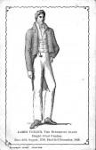 1900s postcard of James Toller, the Eynesbury Giant