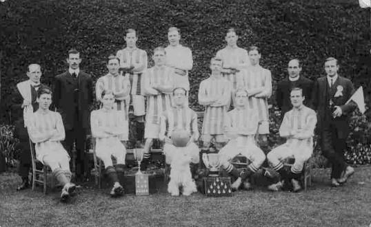Eynesbury Rovers Football Team, 1913-1914,