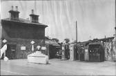 Berkeley Street filling station in Eynesbury, around 1947