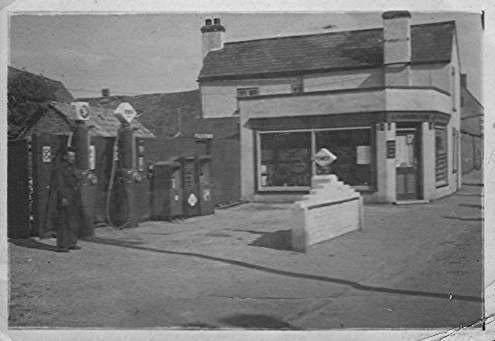 Berkeley Garage in Berkeley Street, Eynesbury, around 1950