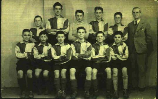 Eynesbury School Football Team 1948-1949