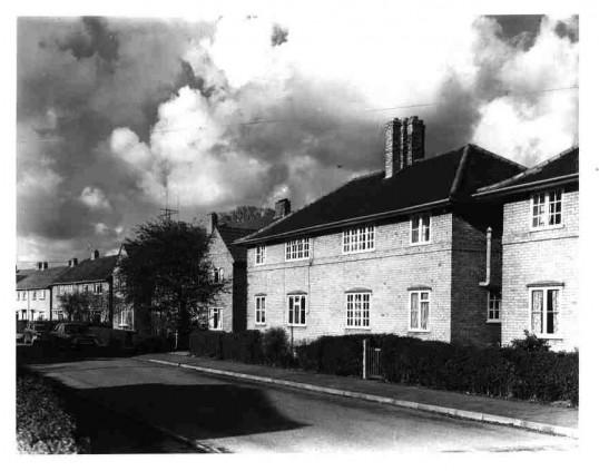 Ferrars Avenue in Eynesbury, around 1930