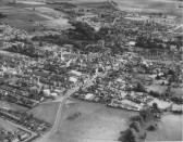 Aerial View of St Neots and Eynesbury, pre 1964