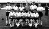 Eynesbury Rovers Football Club 1962-1963, the last year the Rovers had a band playing at their matches